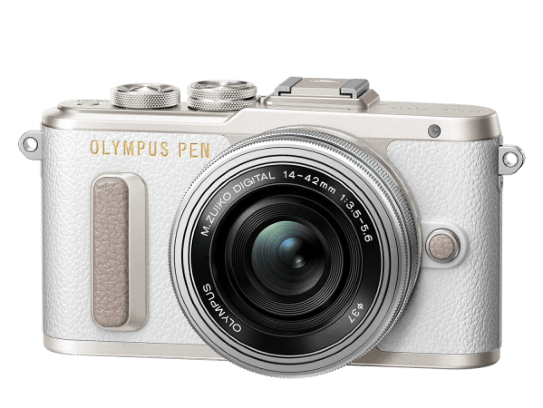 Image shows the Olympus Penn e-PL8