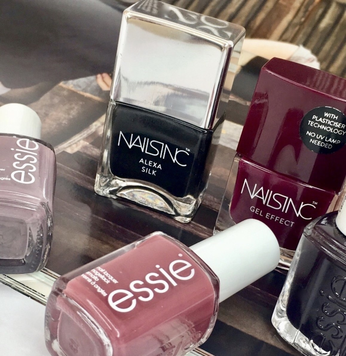 my five chic Autumn nail polishes