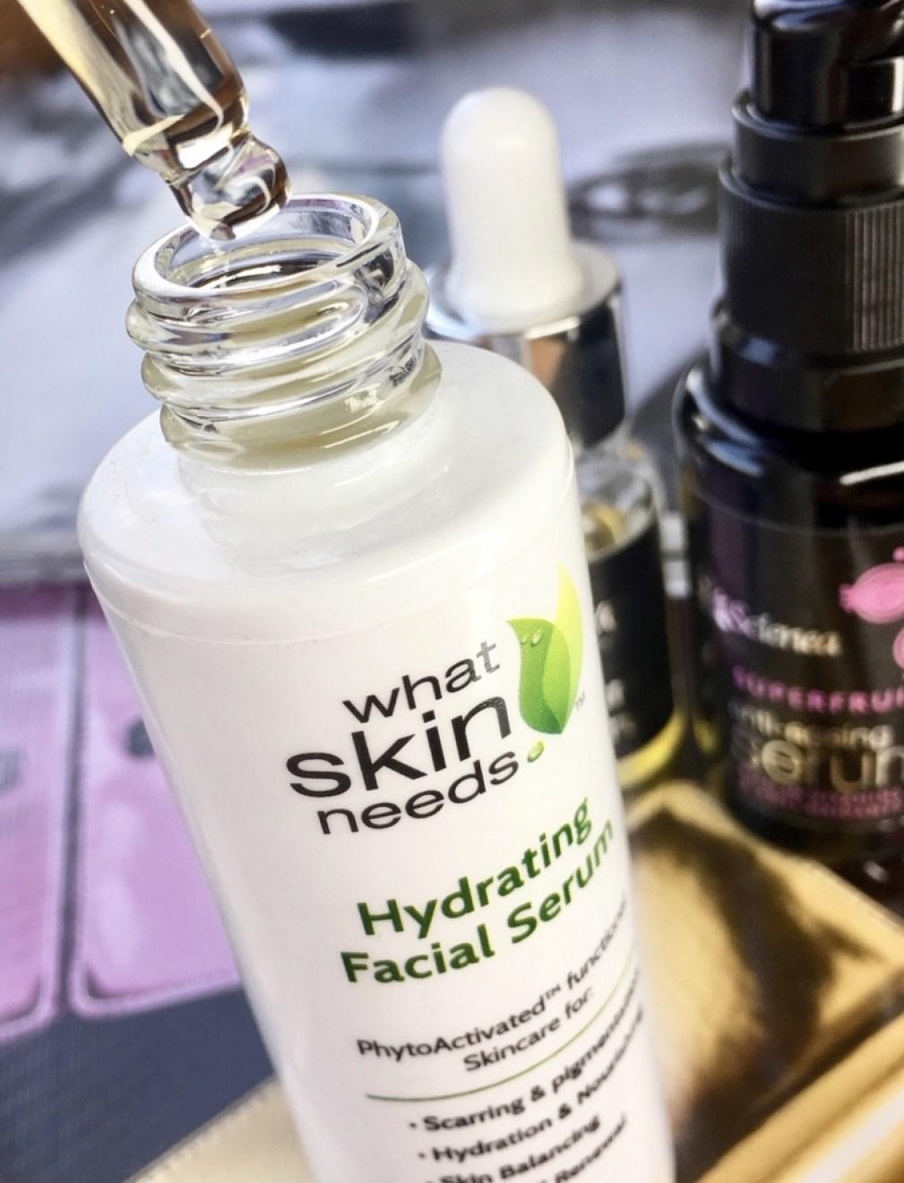What Skin needs hydrating serum