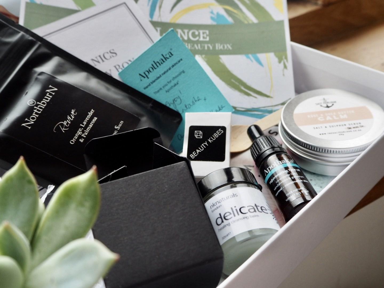Skin organics, clean beauty subscription box