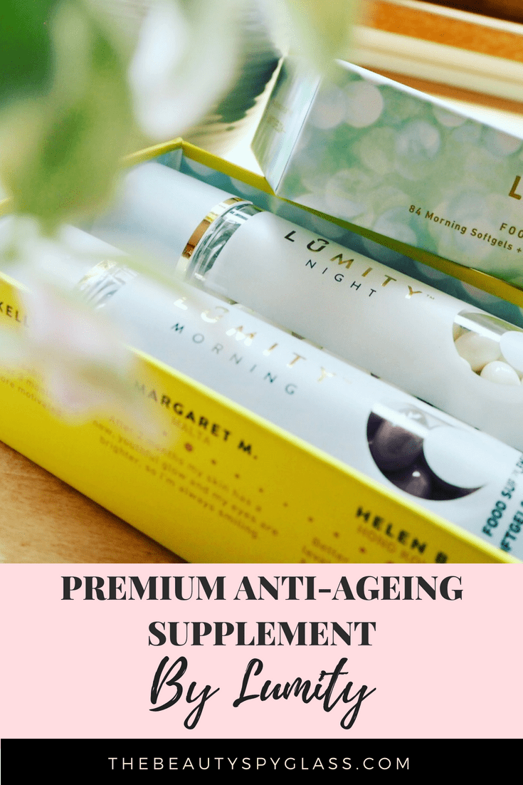 Lumity anti-ageing supplements