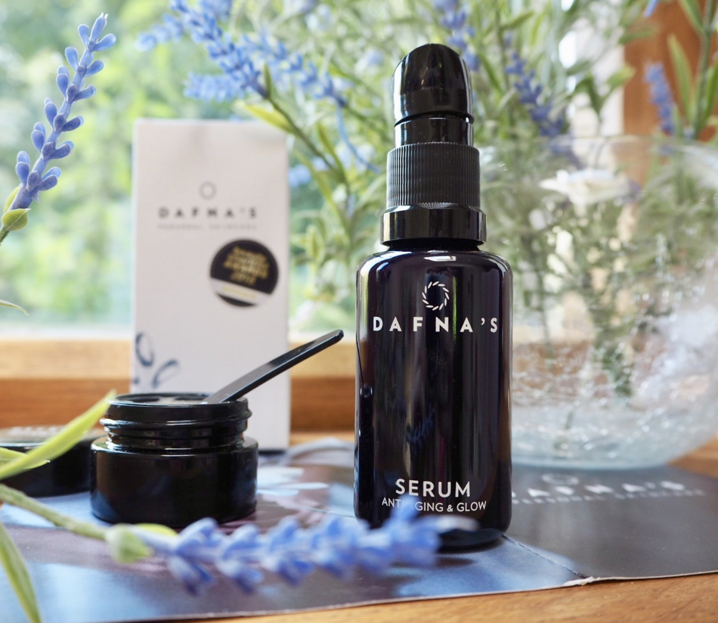 Dafna's personal skincare serum and glow