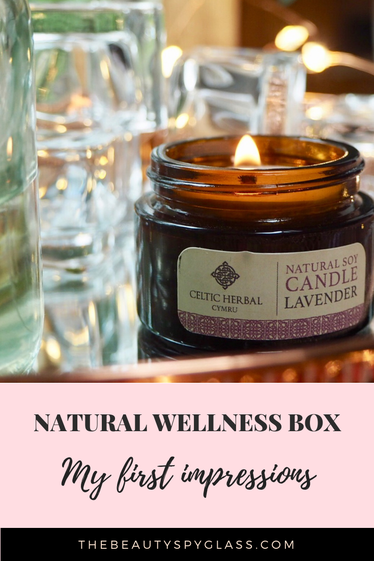 Natural wellness box, first impressions
