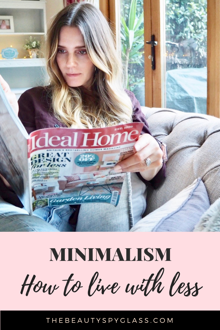 Minimalism. How to live with less