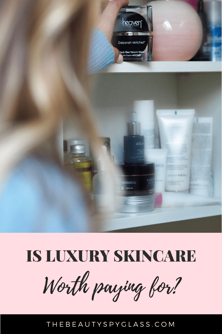 Is luxury skincare worth paying for?