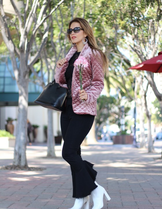 VALENTINE'S DAY SERIES // (LOOK 2) CASUAL-CHIC