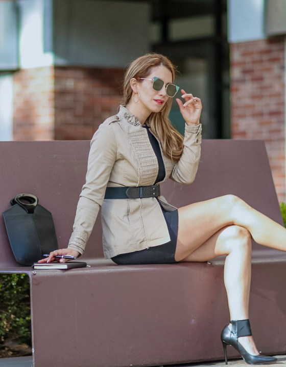 How to Style a Safari Jacket //  Polished to Casual