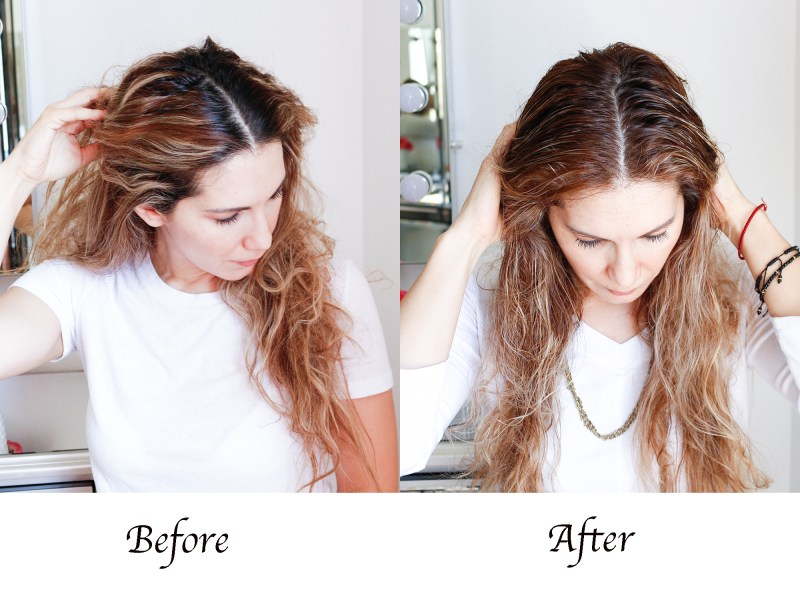 root retouching with AGEbeautiful liqui-créme