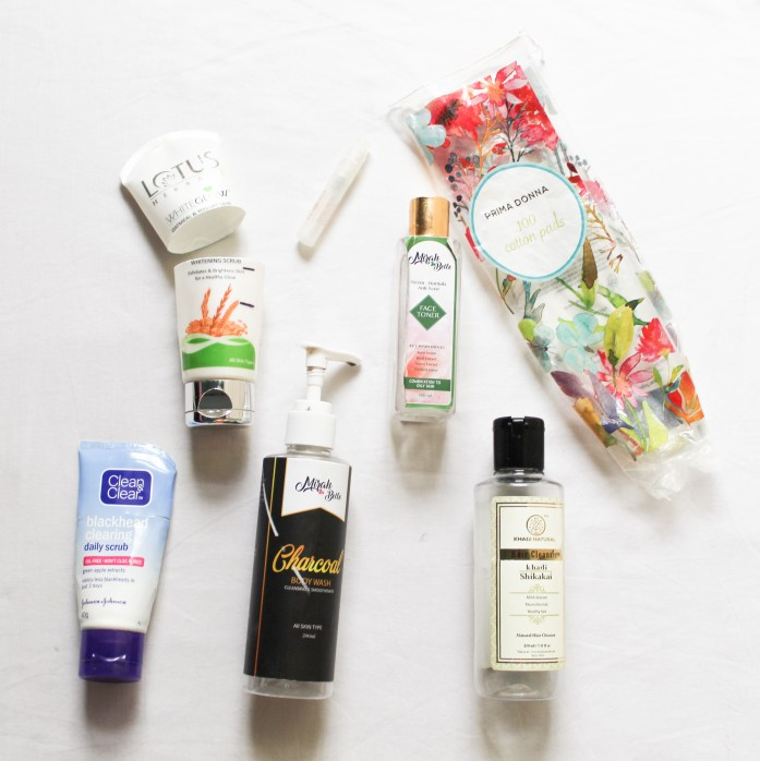 Monthly Empties August 2018