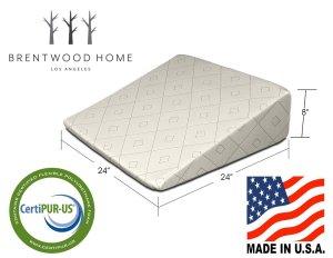 brentwood acid reflux pillow