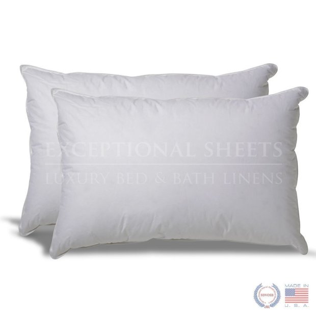 cotton bath pillows of hypoallergenic count bedding primaloft set pillow thread product