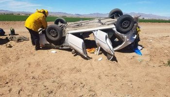 One Injured In Highway 95 Crash - The Bee -The buzz in