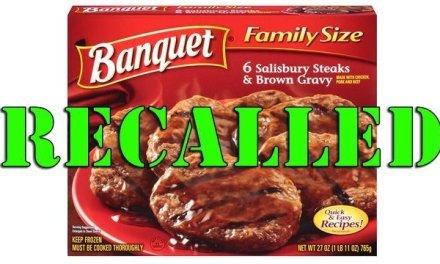 USDA Issues Recall On Conagra Salisbury Steak Product
