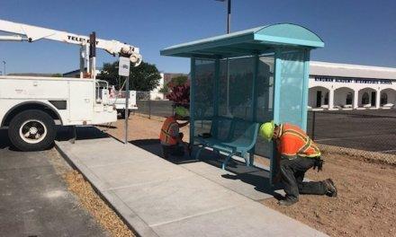 KART Bus Stops Providing Shade For Riders