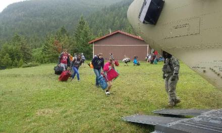 Trapped Campers, Swimming Bears In Montana As Floods Hit US