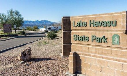 Lake Havasu State Park Rock House Recreation Area Closed