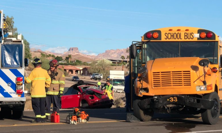 Woman Injured In Crash With School Bus