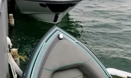 Sunken Watercraft in Lake Havasu
