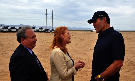 "Las Vegas based Pegasus Group Holdings breaks ground on the ""The Hive"""