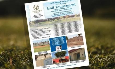 Los Matadores Charity Golf Tournament Needs Your Tee Sponsorship!