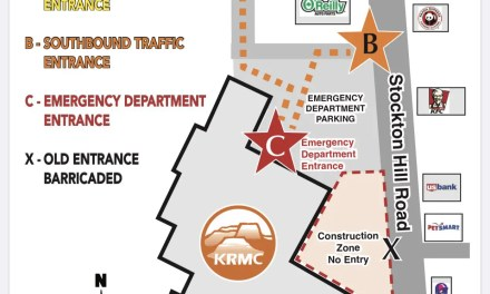 KRMC will change Emergency Department entrance on October 1