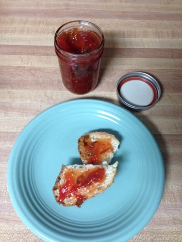 Tomato Basil Jam - The Beef Jar