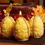 Baroque Egg Candle