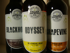 New beers from Fallen Brewing Co