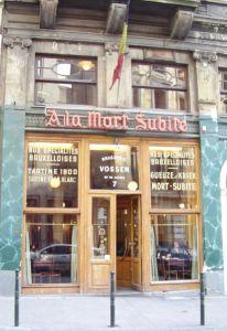 Voici le fameux bar Bruxellois