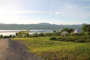 Une des vues depuis l'île!