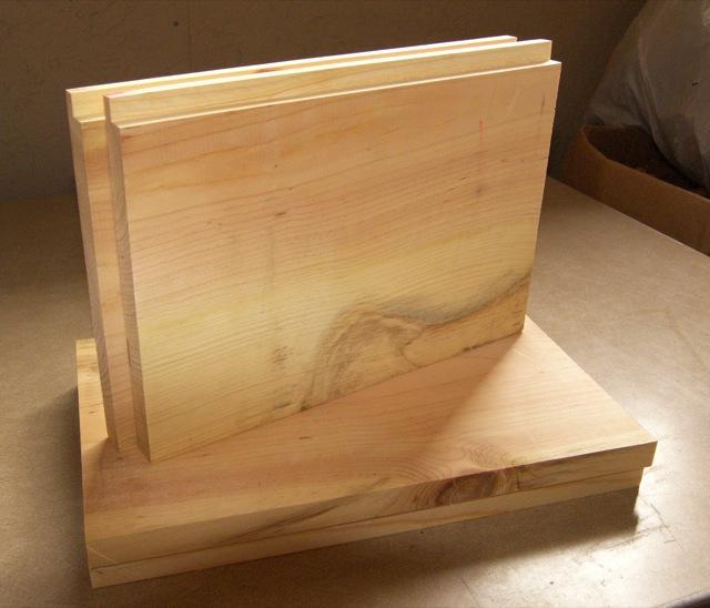Hive Box Parts Ready to Assemble