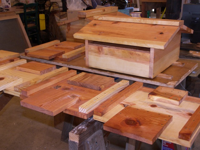 Drying Warre Hive Components with Oil Finish