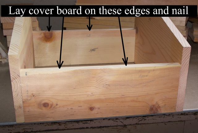 Attaching the Cover Board
