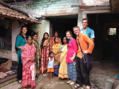 A Family We Visited And Shared The Gospel With