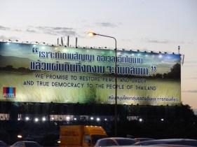 Giant Billboard in Bangkok