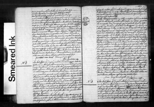 1831 Marriage record for Guilielmus Simons and Catharina Suykerbuyk who were married at Kalmthout.