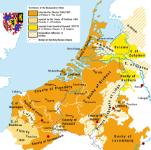 The Low Countries in 1477.