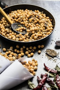 Sri Lankan Devilled Chickpeas Recipe and Food Photography by Shika Finnemore, The Bellephant