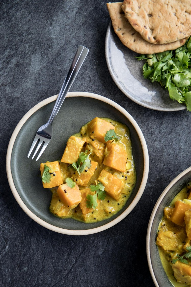 Sri Lankan Creamy Pumpkin Curry Recipe and Food Photography by Shika Finnemore, The Bellephant