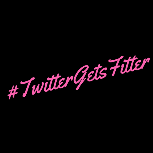 TwitterGetsFitter Official Logo