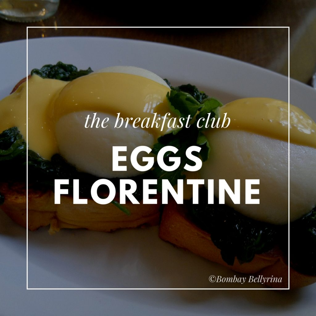 Healthy Options When Eating Out - Eggs Florentine