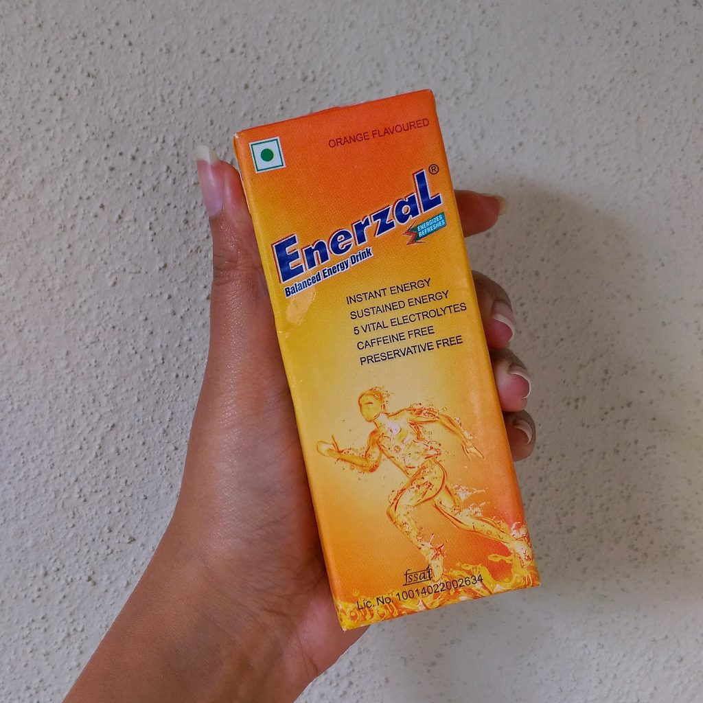 Enerzal Energy Drink | The Bellyrina Diaries