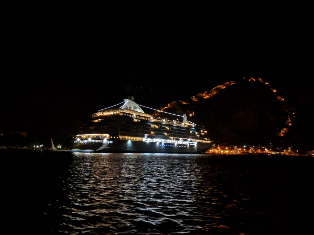 Dinner Cruise by Old Town Hostel Kotor   Travel in Montenegro   Bombay Bellyrina