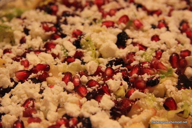 Garnished Autumn Salad