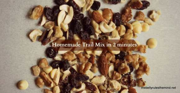 Homemade Trail Mix in 2 mins