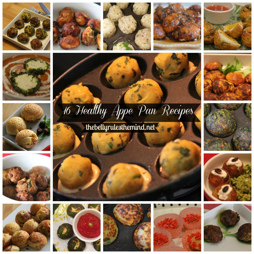 16 Healthy Appe Pan Recipes from TheBellyRulesTheMinddotnet