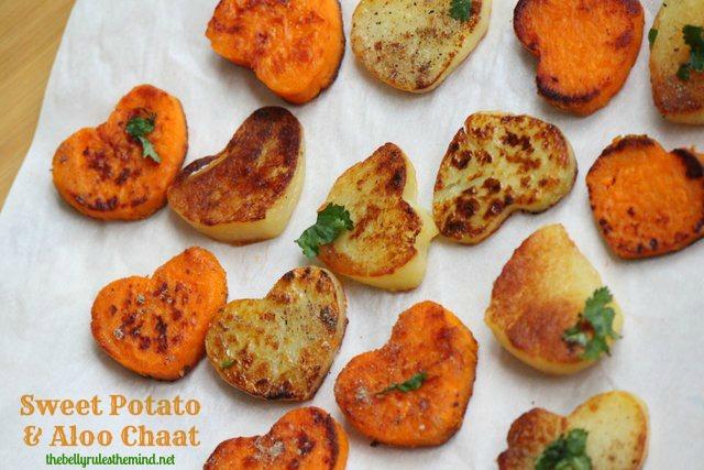 Sweet Potato & Aloo Chaat 3