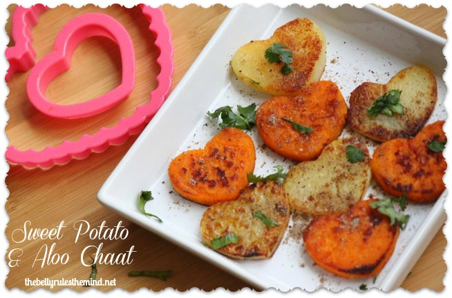 SweetPotato & Potato chaat