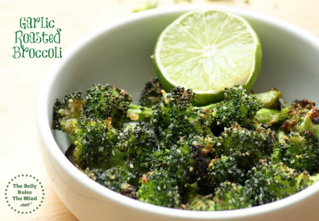 Garlic Roasted Broccoli by TheBellyRulesTheMindDotNet