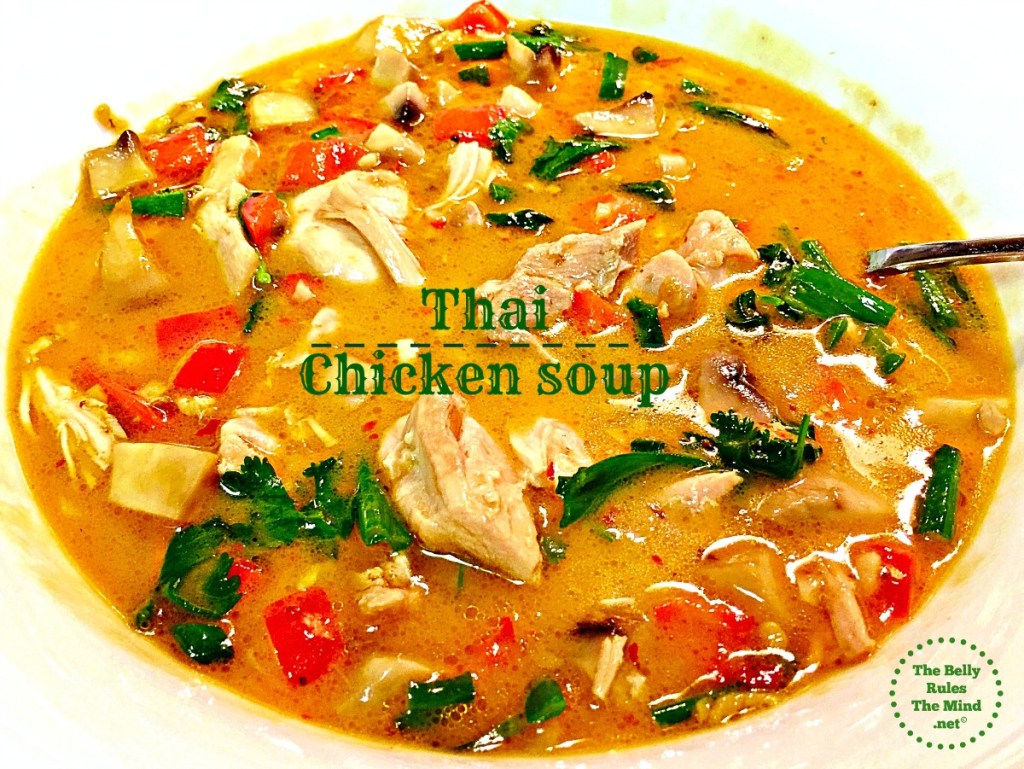 Thai chicken soup